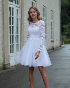 Wedding Suits, Wedding Gowns, Confirmation Dresses, Grace Loves Lace, Bridal Style, Winter Outfits, Party Dress, Reception Dresses, White Dress