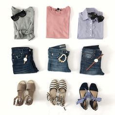 Spring into Style This Year – Best Spring Outfits – Designer Fashion Tips Spring Fashion Outfits, Women's Summer Fashion, Fall Outfits, Winter Fashion, Casual Outfits For Moms, Mom Outfits, Chic Outfits, Grunge Outfits, Edgy Style