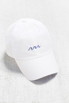 Wave Baseball Cap - Embroidered Baseball Caps - Baseball Hat - White Baseball Cap - Tumblr - Tropical - Sea - Minimal - Best Friends Gift by CupOfTeeStore on Etsy https://www.etsy.com/listing/480846602/wave-baseball-cap-embroidered-baseball