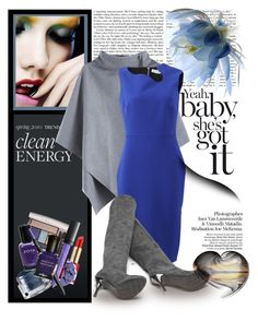 """""""..."""" by jecakns ❤ liked on Polyvore featuring Martha Stewart, Victoria Beckham and Estée Lauder"""