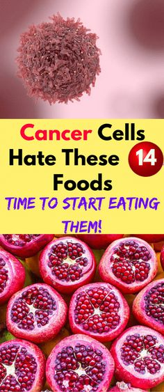 Cancer Cells Hate These 14 Foods, Time to Start Eating Them!!! - All What You Need Is Here