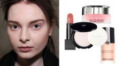 Make-up für blasse Haut (Quelle: shutterstock.com, Burberry, Shiseido, By Terry, Giorgio Armani)