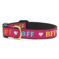 Up Country BFF Dog Collar