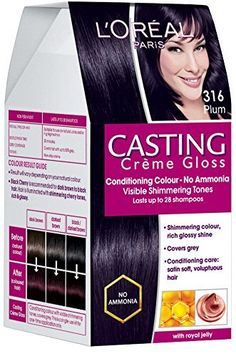Casting Creme Gloss is a no ammonia hair colorant that gives your hair visible shimmering tones, glossy shine and covers greys