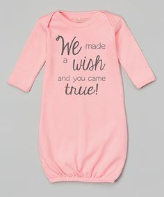Another great find on #zulily! Pink 'Wish Came True' Gown - Infant #zulilyfinds
