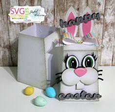 Bunny Trapezoid Box