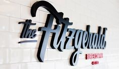 The Fitzgerald Burger Company. Global identity. on Behance