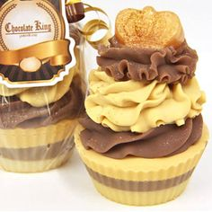 Chocolate King Cupcake Soaps