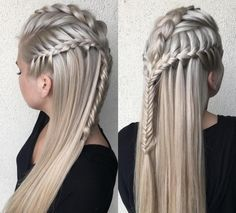 Image result for khaleesi game of thrones hairstyle