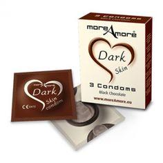 Preservativos moreamore chocolate 12 Unid.