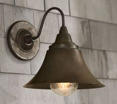 Barnard Indoor/Outdoor Sconce | Pottery Barn