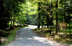 Moonshine Creek Campground at Sylva, North Carolina
