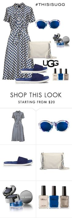 """""""Uggg7"""" by im-karla-with-a-k ❤ liked on Polyvore featuring Marc by Marc Jacobs, Linda Farrow, UGG Australia and Lise Watier"""