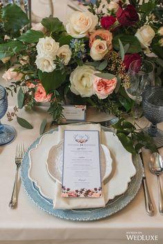 Wedding / table setting / centerpiece