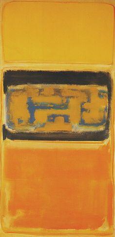 "dailyrothko: "" Mark Rothko, No 1, 1949 "" Modern Art"