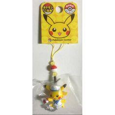 Pokemon Center Yokohama 2012 Pikachu Sailor Mobile Phone Strap