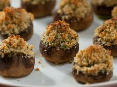 Stuffed mushrooms these were a hit and very easy
