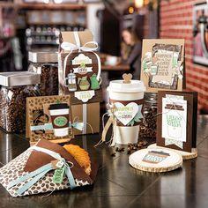 Coffee Café Photopolymer Bundle by Stampin' Up!