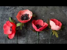 How To Make A Paper Rose - Juliette version - YouTube