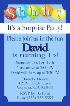 Pool party graduation invitation click to order today pool party surprise party birthday invitation click on the image twice to place orders or follow me filmwisefo