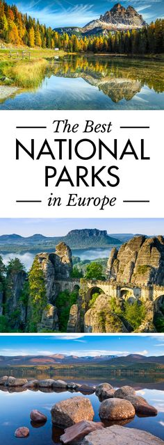 Click pin to discover the best national parks in Europe. #Europe