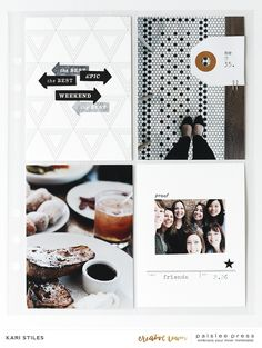creative team inspiration | Weekend Vibes + Pocket Guide no. 8 - paislee press