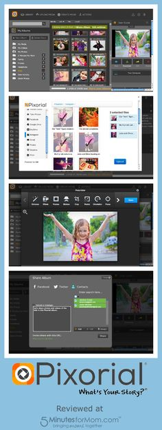 Pixorial Photo and Video Sharing Website