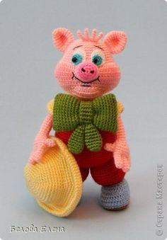 Игрушка Вязание крючком Вязание спицами Любимые мультяшки Пряжа фото 5