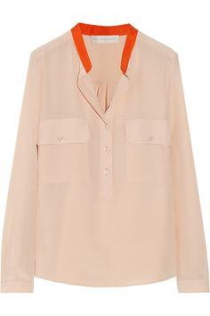 Stella McCartneyEstelle silk crepe de chine shirt