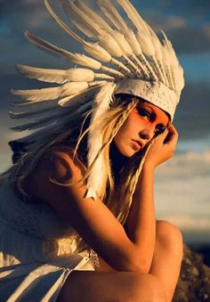 Native indian photoshoot