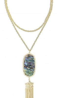 Rayne Necklace Abalone