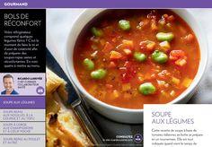 Bols de réconfort - La Presse+ Cheeseburger Chowder, Food And Drink, Parboiled Rice, Acorn Squash, Dinner Healthy, Cream Soups, Onion