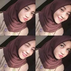 Casual Hijab Outfit, Hijab Chic, Hijabi Girl, Girl Hijab, Mode Abaya, Modern Hijab Fashion, Muslim Beauty, Selfie Poses, Couple Aesthetic