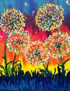 Resultado de imagem para paint night painting ideas