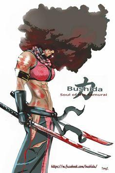 Bushida:Soul of the Samurai Entertainment Bushida:pinupart Character Inspiration, Character Design, Character Reference, Black Men Street Fashion, Afro Samurai, Ninja Art, Character Description, Online Art Gallery, Bad Boys
