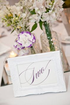 table number - New South Wales Wedding from Bianca Dopson Photography