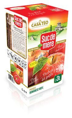 Suc natural de mere