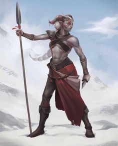 This. This right here is how the female qunari should have been done. There are feminine qunari out there, yes, but I still find it hard to believe that Bioware couldn't do what was above: strong, dominant air, but still a woman in face shape and body.