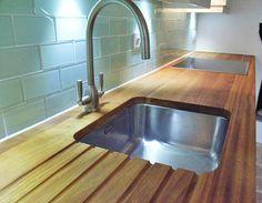 Image result for single stainless steel sink in oak worktop