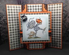 Mummy Modified Tri-Shutter Card by Cthisss - Cards and Paper Crafts at Splitcoaststampers