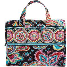 Vera Bradley Hanging Travel Organizer in Parisian Paisley ($48) ❤ liked on Polyvore featuring parisian paisley, travel and travel accessories