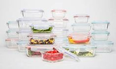 image for Wexley Glass Food-Storage Container Set (8-, 10-, 14-, or 20-Piece)