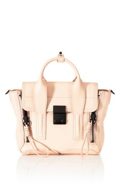 3.1 Phillip Lim Mini Pashli Satchel love the blush+black hardware combo