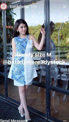 Batik Kebaya, Batik Dress, Batik Fashion, Fashion Fabric, Uniform Shop, Traditional Fabric, Brokat, Advanced Style, Woman Clothing