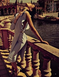 Questione di Stile: Agnes Nabuurs by David Roemer for Glamour Italia June 2013