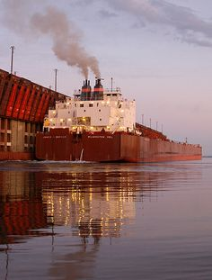 Great Lakes freighter by gkretovic, via Flickr