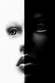 Black and White│Negro y Blanco - - Black N White, Black And White Pictures, White Art, Color Black, Foto Fashion, Shades Of Black, Light And Shadow, Yin Yang, Color Negra