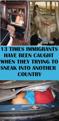 While what these immigrants tried to do is completely wrong, I must admit that they are incredibly innovative and cunning. Unfortunately, fooling the police is not that easy. Funny Memes, Hilarious, Unusual Things, The Fool, Laughter, Funny Pictures, Celebrities, Wedding Hair, Wedding Decor