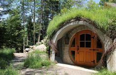 'Glamping' Tolkien-Style in a forest hideaway