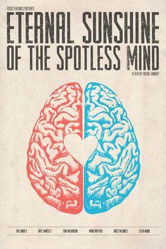 Eternal Sunshine of the Spotless Mind - Alternative Movie Poster by Anthony DeCarolis